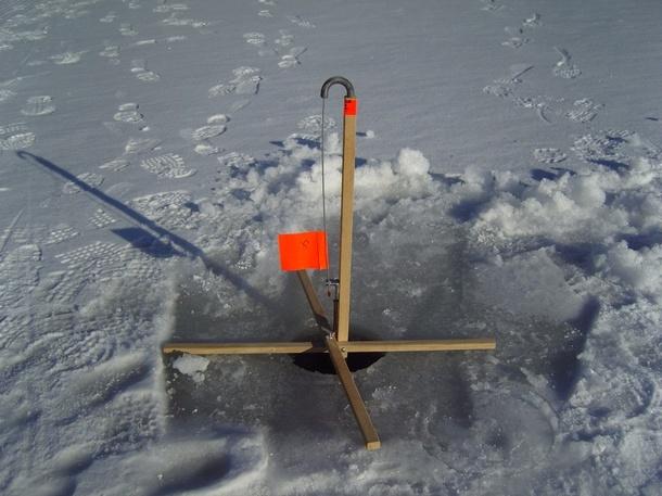 Ice fishing basics lead