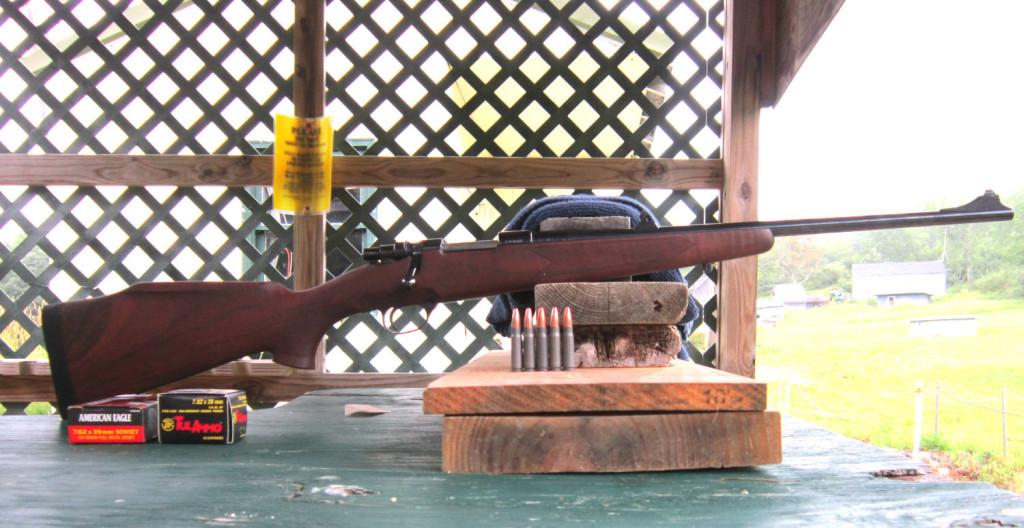 Zastava M85 at the range