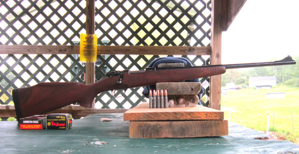 Zastava M85 at the range