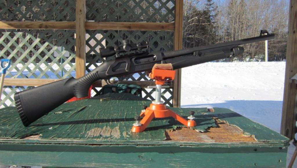 Benelli Nova tactical with aimtech scope mount
